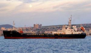 m/v Rene, black sea, Tsemess (Novorossiysk) Bay