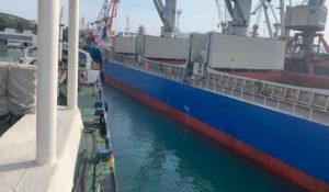 m/v Turkan Tuapse port