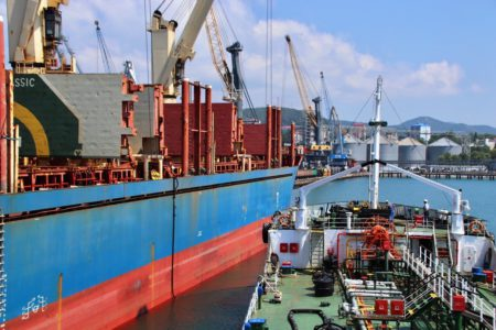 Bunkering in Tuapse and the Caucasus